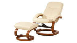 Angelo Swivel Chair Cream