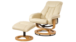 Arizona swivel chair cream