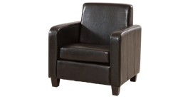 Cesano armchair brown