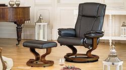Santiago armchair black