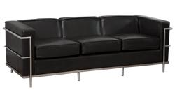 Santiago 3 seat black