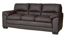 Selena 3 seater brown