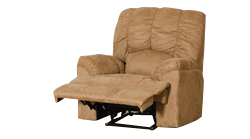 Valente 1 seat medium brown