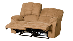 Valente 2 seat medium brown